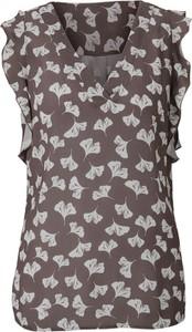 Bluzka Heine z dekoltem w kształcie litery v bez rękawów