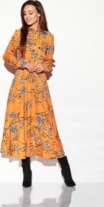 Brązowa sukienka Lemoniade maxi