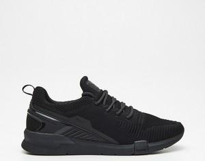 Czarne buty sportowe Cropp w sportowym stylu