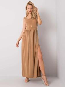 Sukienka Promese maxi z dekoltem w kształcie litery v