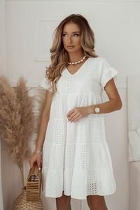 Sukienka Shopaholics Dream mini z krótkim rękawem