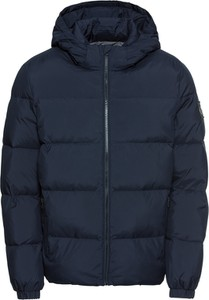Granatowa kurtka Calvin Klein w stylu casual