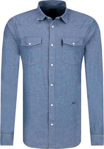 Koszula Armani Jeans z długim rękawem