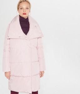 Różowy płaszcz Mohito w stylu casual