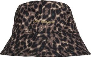 Brązowa czapka Sofie Schnoor