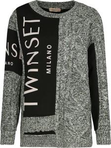 Sweter Twinset z wełny