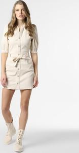 Sukienka Pepe Jeans z dekoltem w kształcie litery v szmizjerka w stylu casual