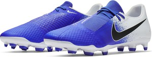 Niebieskie buty sportowe Nike Football sznurowane