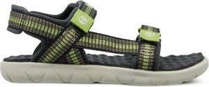Buty dziecięce letnie Timberland na rzepy dla chłopców ze skóry