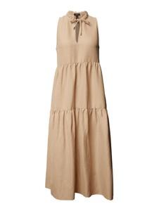 Sukienka Marc Cain maxi z dekoltem w kształcie litery v bez rękawów