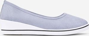 Trampki Yourshoes z płaską podeszwą z tkaniny