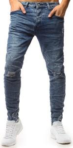 Jeansy Dstreet w street stylu z jeansu