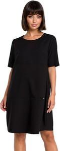 Sukienka BeWear mini z krótkim rękawem w stylu casual