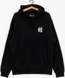 Czarna bluza ETNIES z bawełny