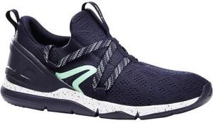 Granatowe buty sportowe Newfeel sznurowane