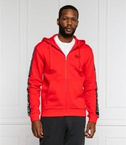 Czerwona bluza Emporio Armani w stylu casual