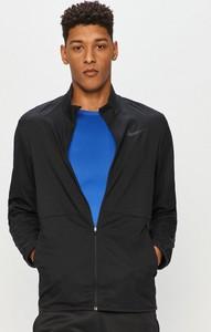 Czarna kurtka Nike krótka w stylu casual