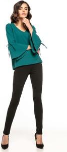 Bluzka Tessita w stylu retro z długim rękawem