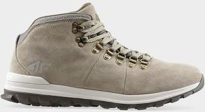 Brązowe buty zimowe 4F