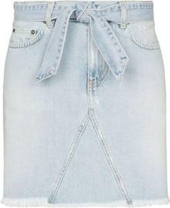 Niebieska spódnica Givenchy mini z jeansu