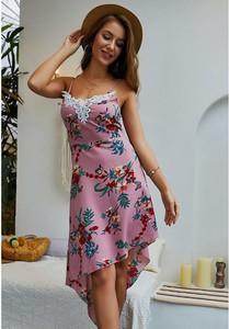 Sukienka Luna Tuccini z okrągłym dekoltem