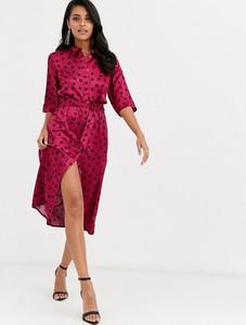 Różowa sukienka Closet oversize