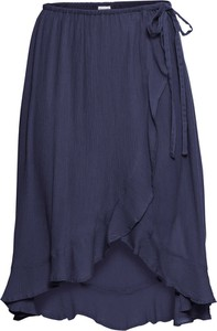 Niebieska spódnica bonprix BODYFLIRT midi