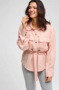 Różowa kurtka ORSAY krótka w stylu casual