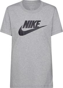 Bluzka Nike Sportswear z krótkim rękawem z okrągłym dekoltem w sportowym stylu