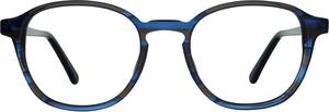 Niebieskie okulary damskie Karl Opti Germany