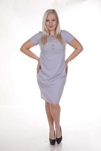 Sukienka Fokus w stylu casual midi oversize