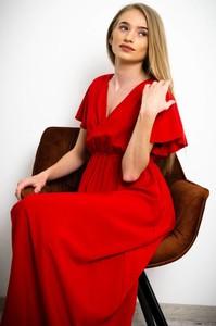 Czerwona sukienka Olika