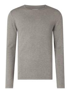 Sweter McNeal z bawełny z okrągłym dekoltem w stylu casual