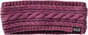 Fioletowa czapka Jack Wolfskin