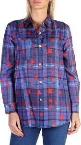 Koszula Tommy Hilfiger z jedwabiu z długim rękawem