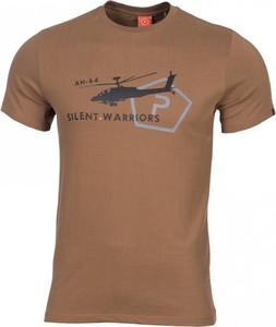 T-shirt Pentagon z krótkim rękawem z bawełny