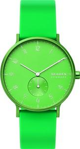Zegarek SKAGEN - Aaren Kulor Neon SKW6556 Green/Green
