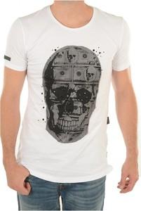 T-shirt Goldenim Paris z nadrukiem z bawełny w młodzieżowym stylu