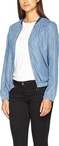 Niebieska kurtka edc by Esprit w młodzieżowym stylu krótka