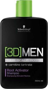 Schwarzkopf [3D] Men Root Activator |Szampon aktywizujący dla mężczyzn 250ml - Wysyłka w 24H!