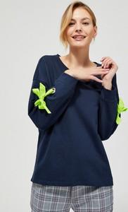 Bluza Moodo z bawełny w stylu casual