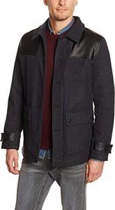 Granatowy płaszcz męski Merc Of London