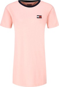 Różowa sukienka Tommy Jeans