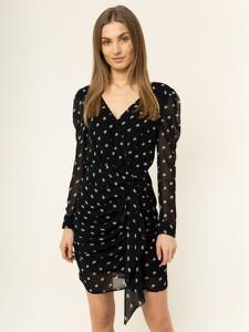 Sukienka Guess kopertowa z dekoltem w kształcie litery v w stylu casual