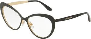 Czarne okulary damskie Dolce & Gabbana