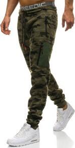 Szare spodnie sportowe denley