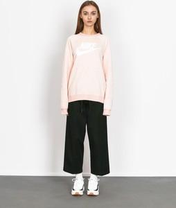 Różowa bluza Nike z bawełny