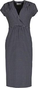 Sukienka Lavard z krótkim rękawem z tkaniny
