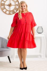 Sukienka KARKO z długim rękawem mini