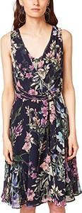 Sukienka amazon.de w stylu boho z dekoltem w kształcie litery v